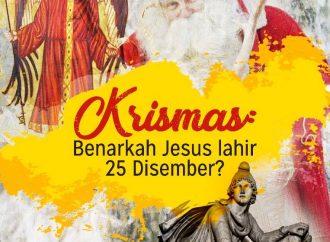 Krismas: Benarkah Jesus Lahir 25 Disember?